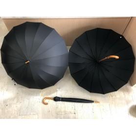568-2,Ομπρέλα Μπαστούνι Αυτόματι Διάμετροσ 150σμ με 16 Ακτίνες