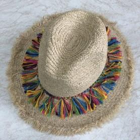 22-10 Καπέλο Ψάθινo