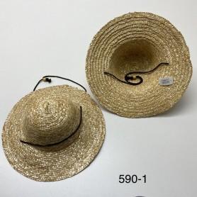 590-1 Καπέλο Ψάθινο