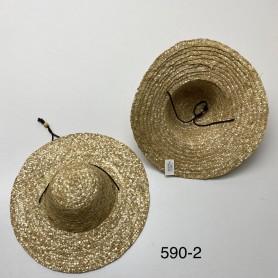 590-2 Καπέλο Ψάθινο